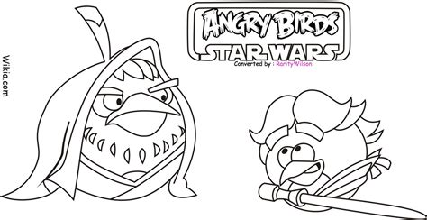 Angry Birds Star Wars Coloring Pages Team Colors Coloring Pages Angry Birds Wars