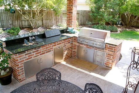 outdoor kitchen and patio patio cover and outdoor kitchen in waterside estates