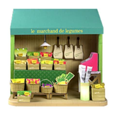Papercraft Shop - ドールハウス 八百屋さん ペーパーミュージアム サンワサプライ株式会社