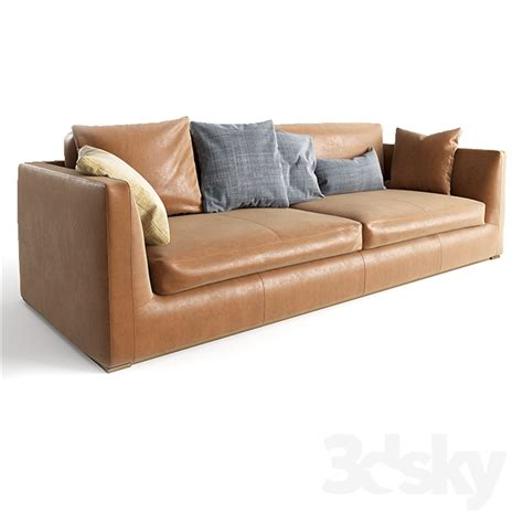 b b 3d models sofa b b italia richard sofa