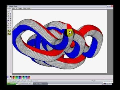hacer imagenes en 3d online como hacer un dibujo en 3d con paint loquendo youtube