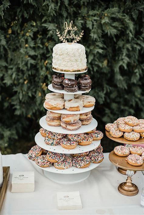 "Wedding Cake   Donuts   Just Say ""Yes""   Doughnut wedding"