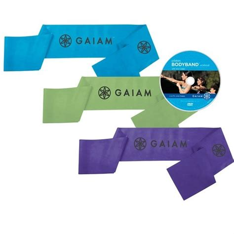 gaiam pilates bodyband kit