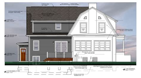 Island In A Small Kitchen Rs2 Architects Wheaton Il Elmhurst Dutch Colonial Rs2