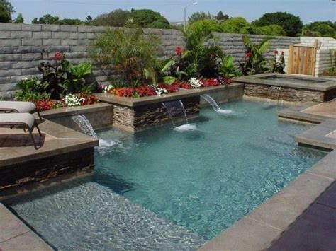 Backyard Rectangle Pools 25 Best Ideas About Raised Pools On Pools