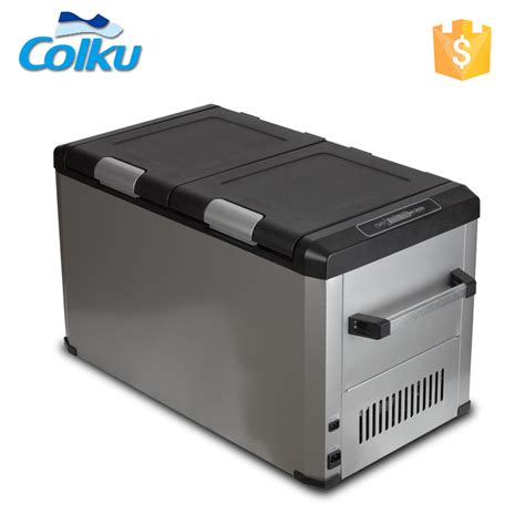 Portable L by 50l 80l Car Portable Dc 12v 24v Solar Refrigerator Fridge