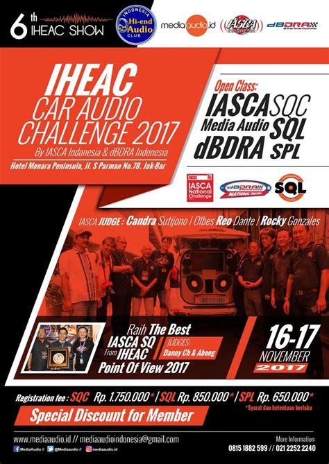 audio challenge iheac car audio challenge 2017