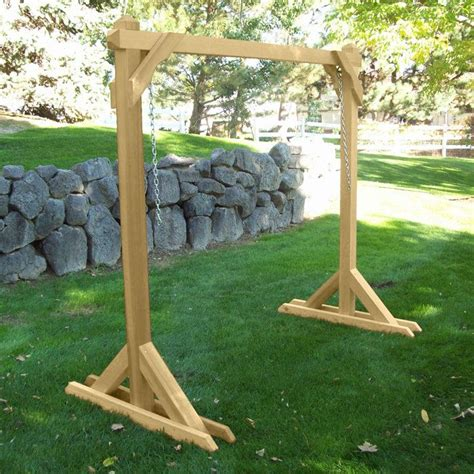 free standing bench swing 1000 ideas about hammock frame on pinterest anti