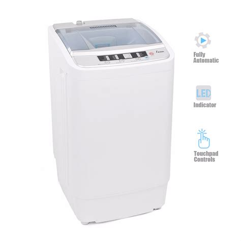 Portable Mini Compact Twin Tub 11lb Washing Machine Washer Portable Laundry