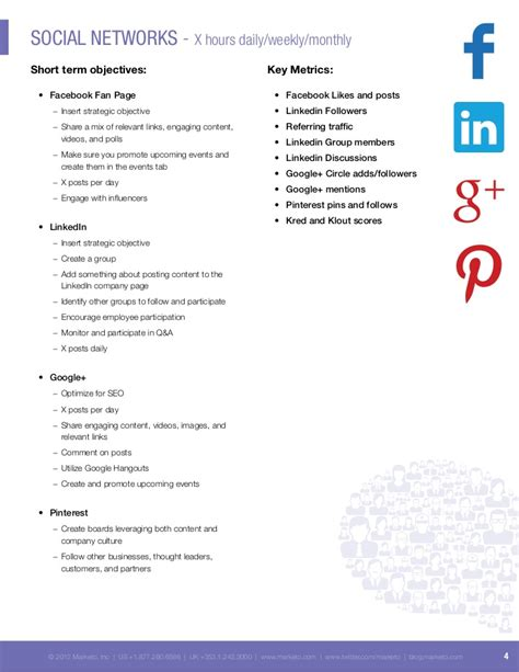 social media proposal template best professional templates