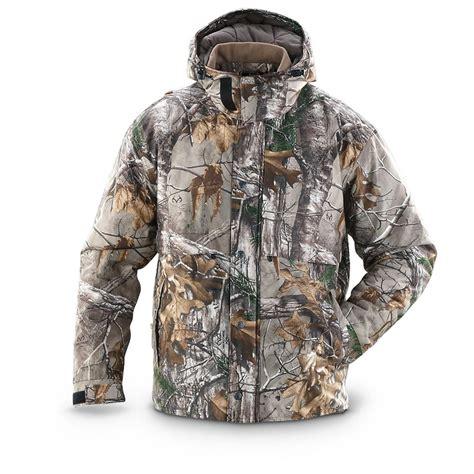 real tree camo clothing guide gear poly tricot jacket realtree xtra camo