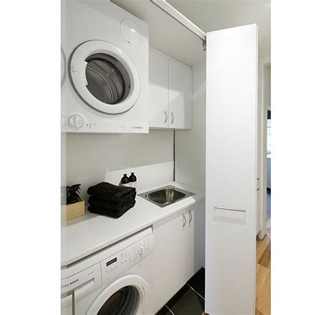 Built In Cupboards Designs For Small Kitchens 11 clever ways to conceal your laundry stuff co nz