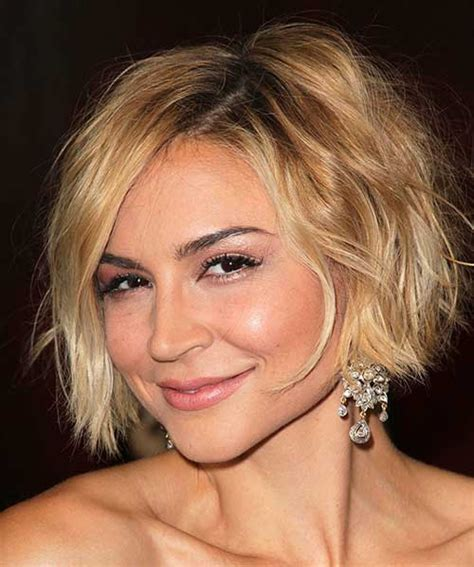 15 short hairstyles for thin wavy hair short hairstyles