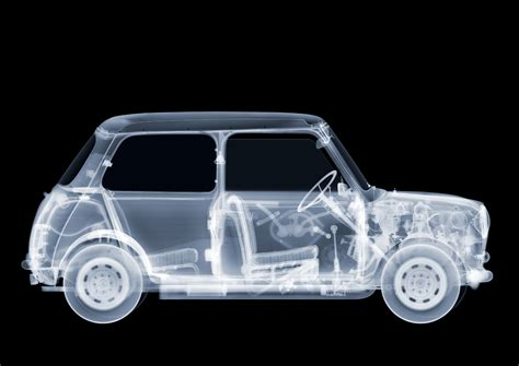 x rays reveal the bare bones of planes cars and