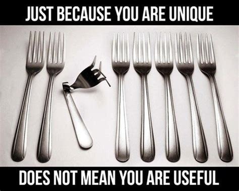Personalized Meme - just because you are unique doesn t mean you are useful