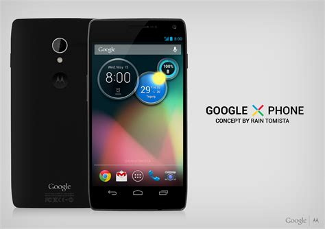 google images on phone google x phone concept skips customization combines