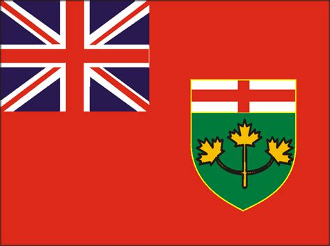 Search Canada Ontario Free Ontario Flag Images
