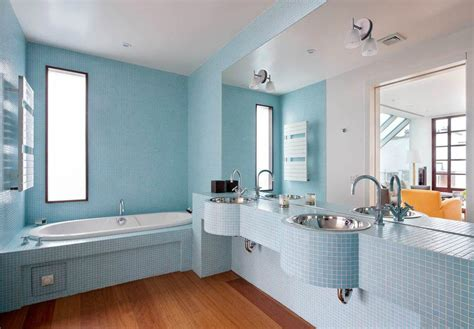 bathroom paint ideas blue 37 small blue bathroom tiles ideas and pictures