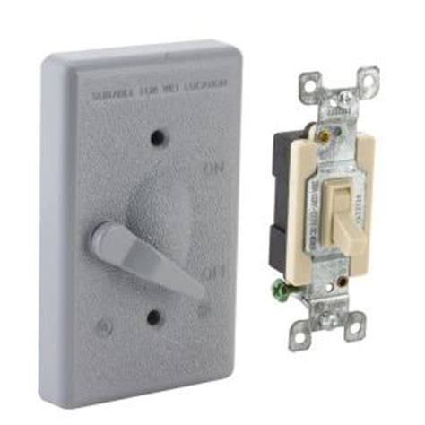 bell 1 weatherproof toggle switch cover kit 5128 0