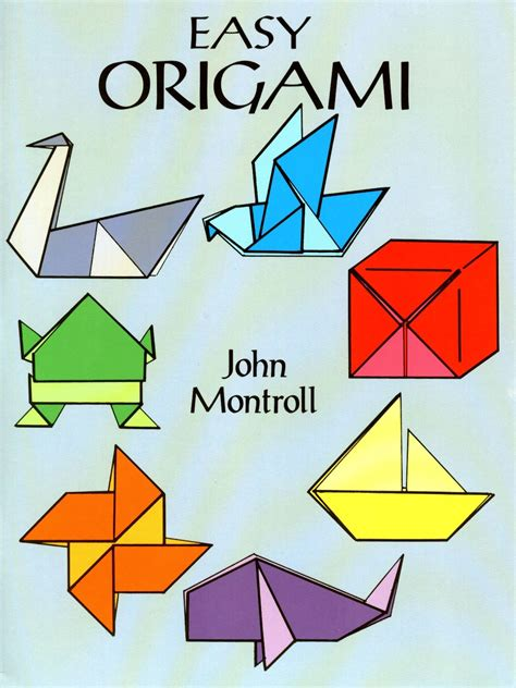 Origami For Children Book - easy origami misterart