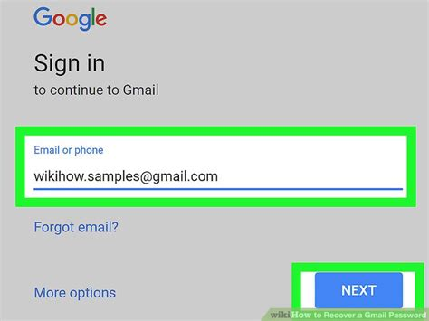 gmail login mobile how to recover your gmail login password wikihow