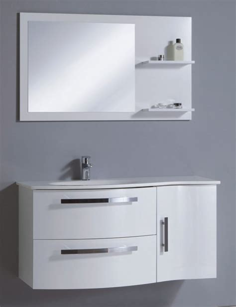 bathroom cabinets bath cabinet:  bathroom cabinet in high gloss white color china bathroom cabinet