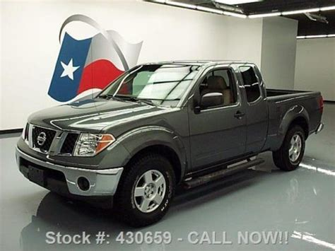 find used 2006 nissan frontier se king cab 4wd damaged salvage low miles priced to sell in sell used 2006 nissan frontier se king cab v6 side steps 47k mi texas direct auto in stafford