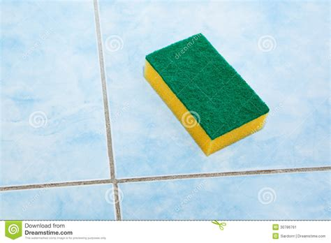 bathroom cleaning sponge cleaning sponge stock image image 30786761