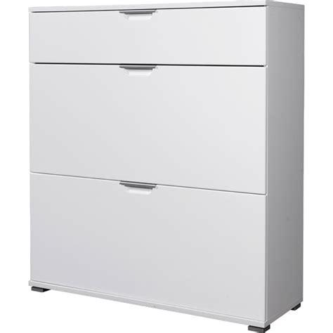 shoe storage cupboard white trento white high gloss shoe storage cabinet 3010 84 11769