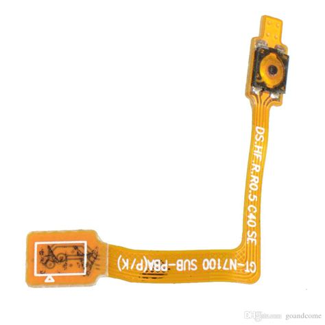 On Button Switch Flash Flex Cable Replacement For Iphone 6 power button on switch flex cable parts for samsung galaxy note 2 t889 free shiping