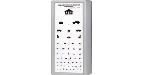 tavola optometrica per bambini ottotipo tavola optometrica per bambini distanza di