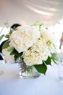 White Flower Centerpieces Love All White Flower Arrangements Love Pinterest