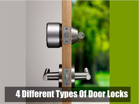 4 different types of door locks pdfsr