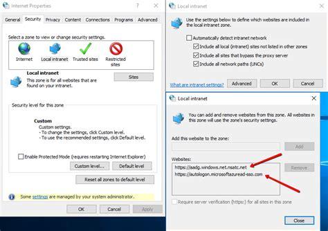 windows password reset self service ad connect pass through authentication sso vigilant it