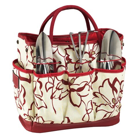 Garden Tote by Awesome Garden Tools Set 5 Gardening Tote With Tools