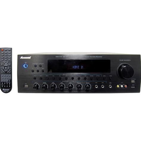 Home Theatre Karaoke acesonic hkr 710 340 watt hdmi surround sound karaoke receiver ebay