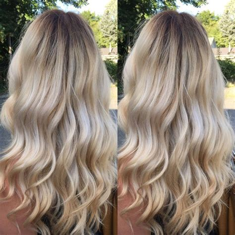 photos of blonde highlights with dark roots creamy blonde un colore autunnale che vi far 224 sognare