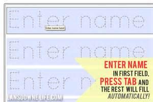handwriting templates for preschool preschool handwriting worksheet free printable
