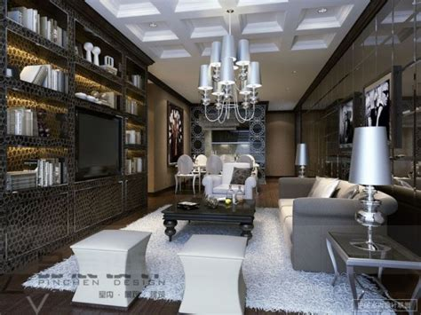 glamorous living rooms luxurious far east style living room designs