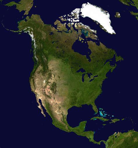 america map satellite mexiko satelliten karte