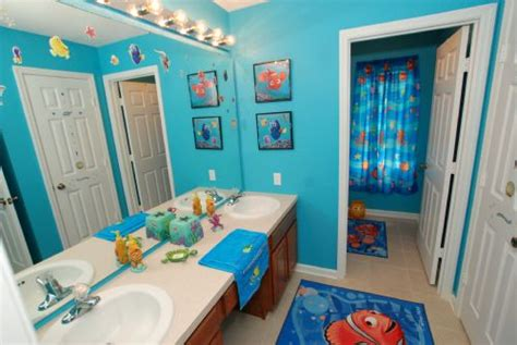 nemo bathroom accessories finding nemo bathroom shower curtain html myideasbedroom com