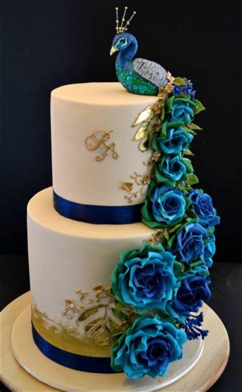 peacock   inspiration  cake decoration