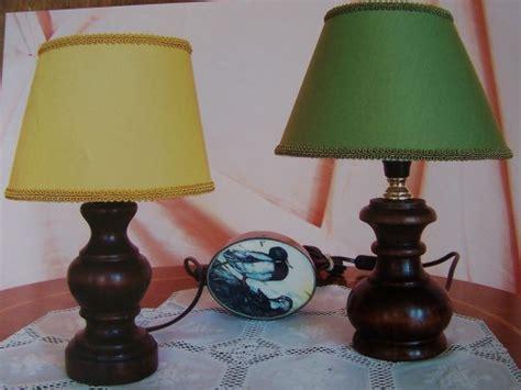 lumetti per comodini realizzazione lumetti in legno o colonnine per comodini