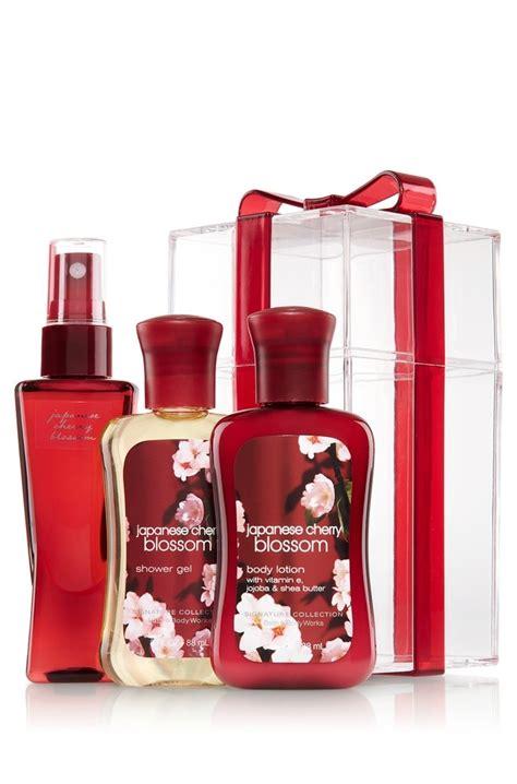 Bath And Works Japanese Cherry Blossom bath works japanese cherry blossom signature collection mini bow box