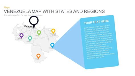 venezuela map powerpoint and keynote template slidebazaar