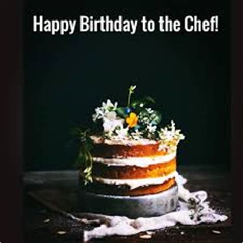 Happy Birthday Wishes For Chef