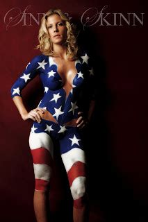 american flag body painting painting body painting