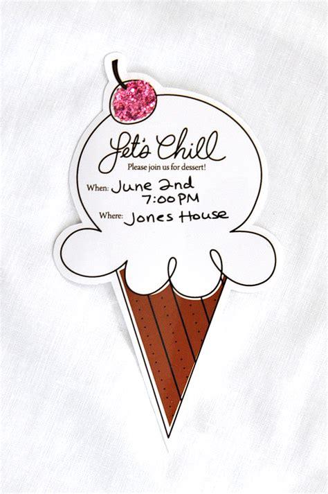 free printable invitations ice cream party free ice cream party printable tauni co