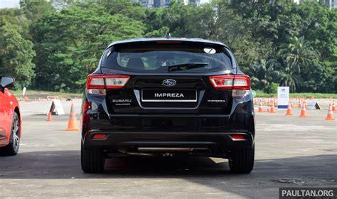 subaru singapore 2017 subaru impreza launched in singapore sedan and