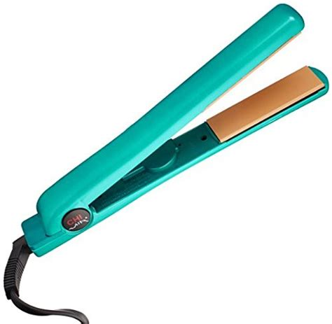 chi flat iron hair dryers hair straighteners reviews chi air 1 quot ceramic flat iron in true teal ionic